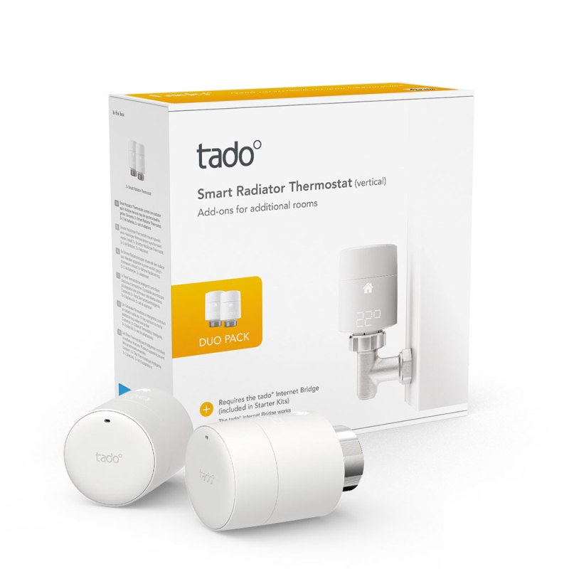 tado° Smart Radiator Thermostat Duo Pack